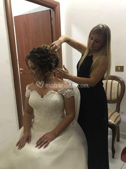 Sposa Settembre 2017 -cambio a