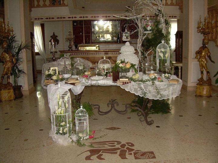 Confettata in villa