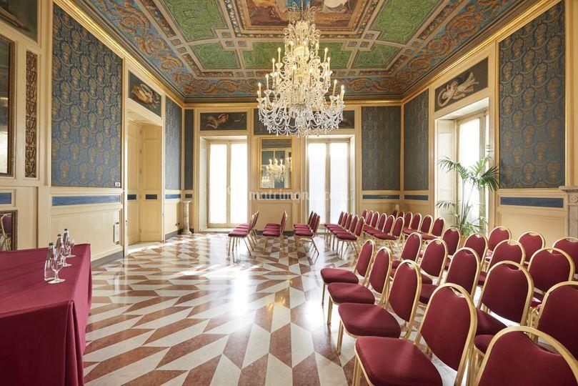 Sala ricevimento di eurostars centrale palace palermo for Sala 0 teatro sevilla
