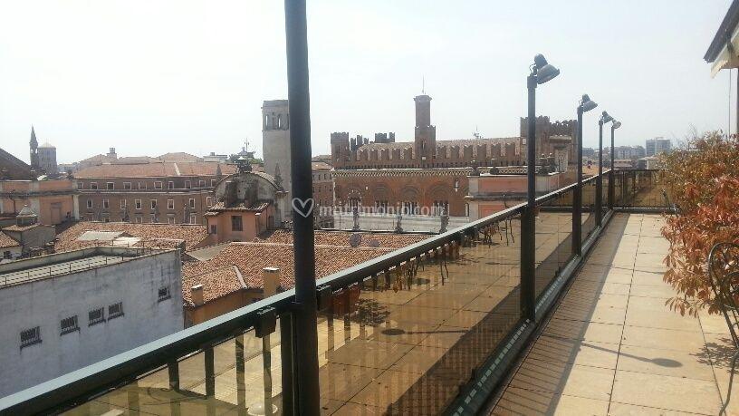 Vista Sul Centro Storico Di Grande Albergo Roma