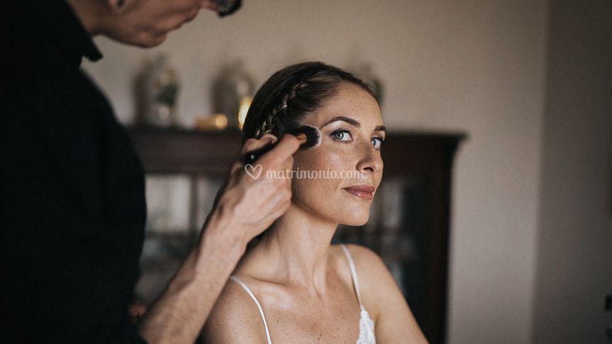 Getting ready - Silvia