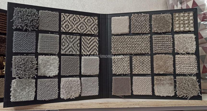 Campionatura tappeti