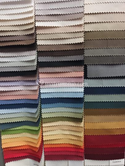 Scala colori tessuti