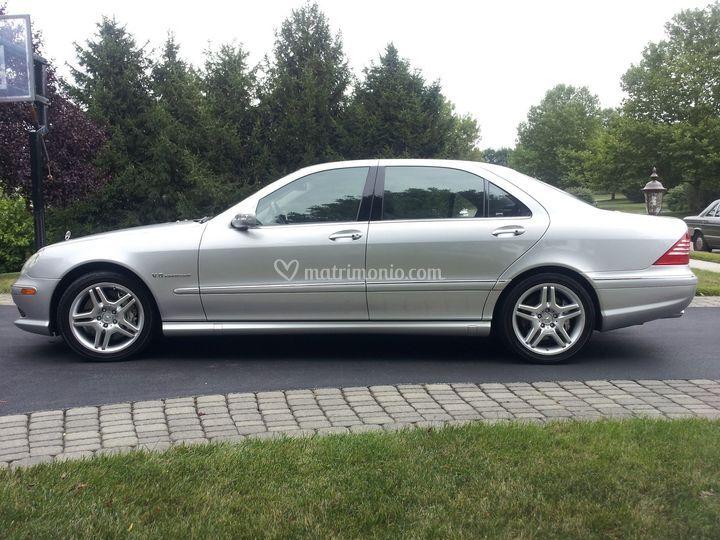 Mercedes classe S grigio