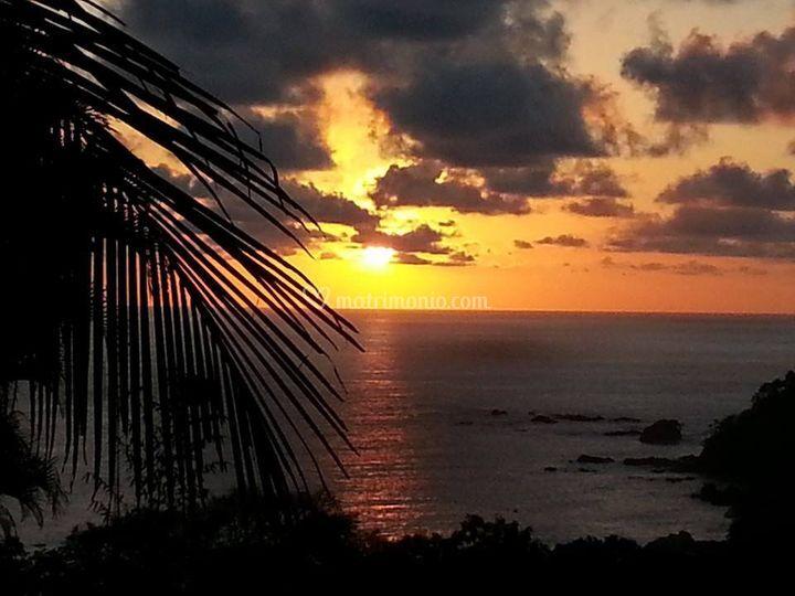 Polinesia tramonto