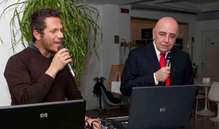 Con Galliani