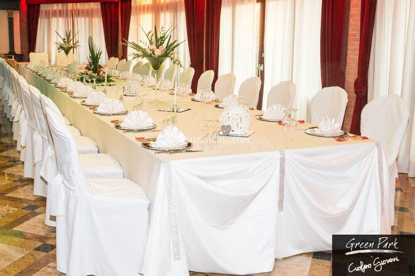 Matrimoni - Tavolo imperiale