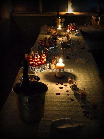 A lune di candela
