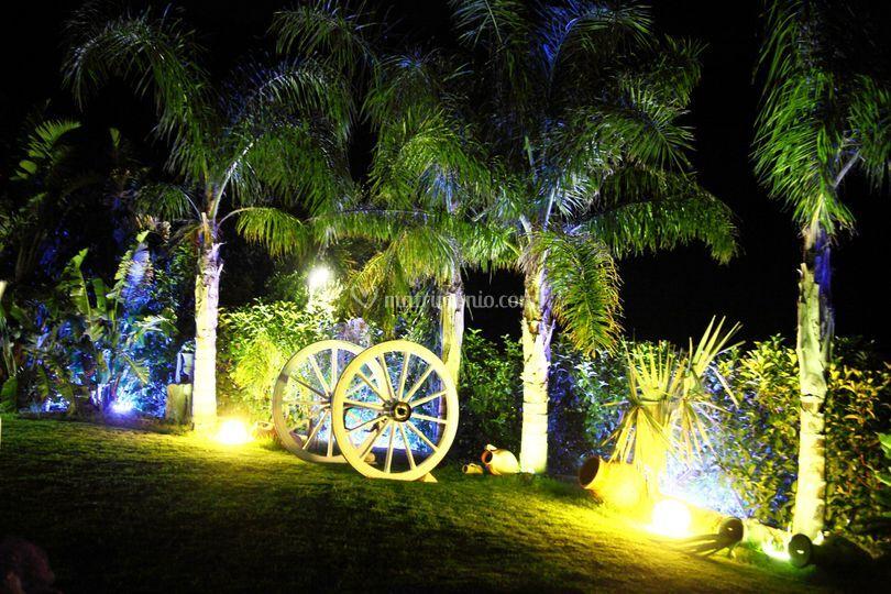Villa carollo for Decorazione giardino matrimonio