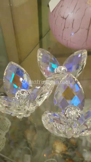 Fiore iridescente cristallo