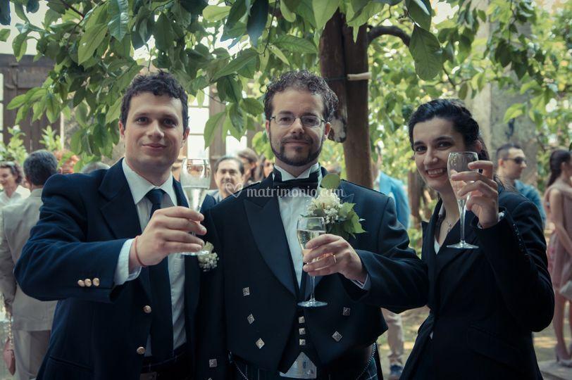 Sposo e testimoni