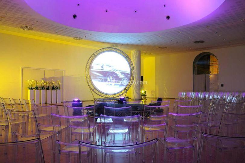 Illuminazione convention