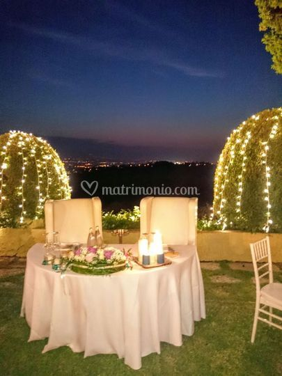 Catering romantico