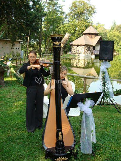 Arpa Classica e Violino