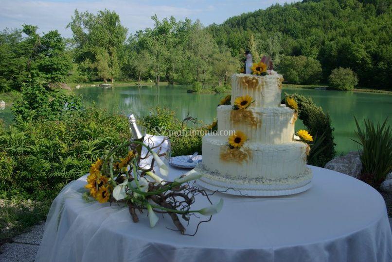 Le nostre wedding cakes di parco del lago resort spa for Lago spa padova