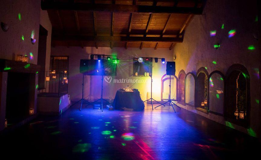 Postazione ballo serale