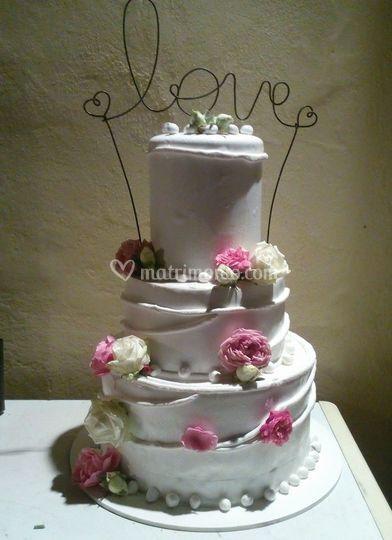 Wedding cake gelato