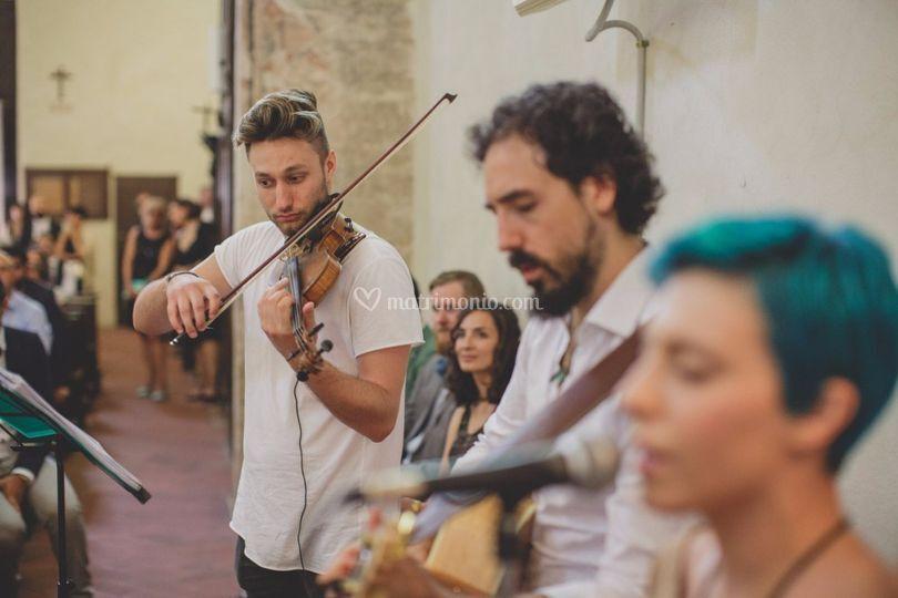 In Chiesa col Trio!