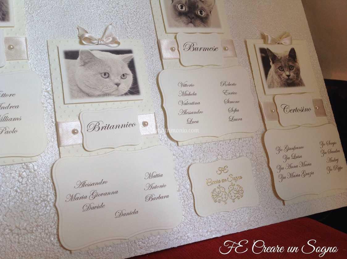 Partecipazioni Matrimonio Gatti.Particolare Tableau Gatti Di Fe Creare Un Sogno Foto 89