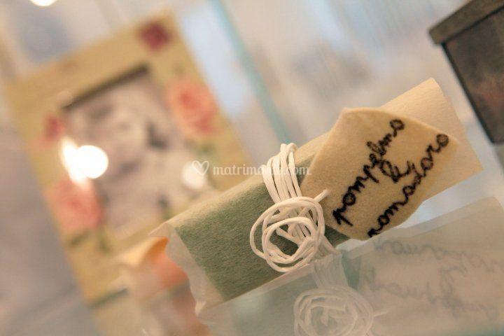 Alternativo souvenir di nozze