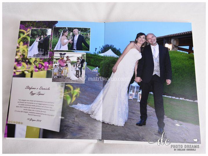 Pagina album libro