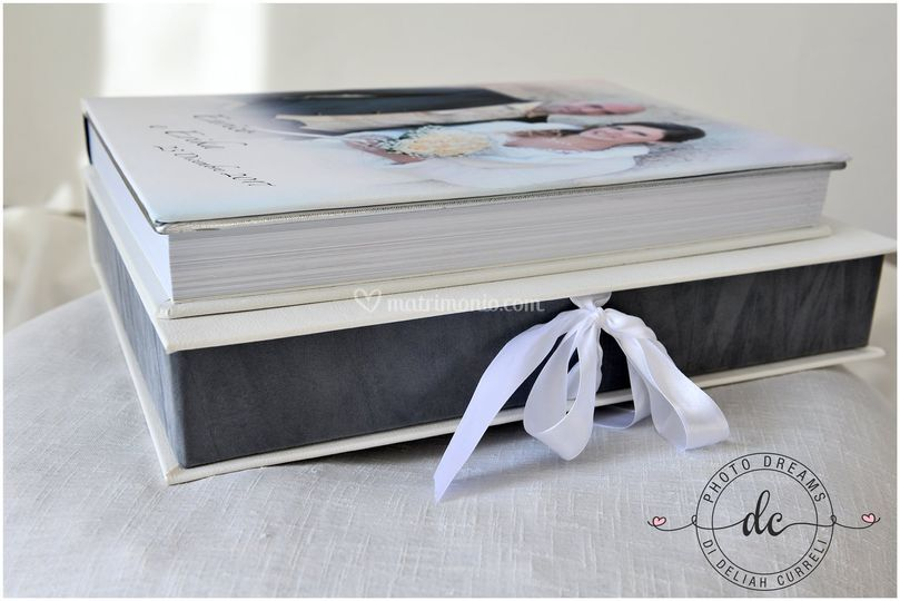 Foto libro con scatola