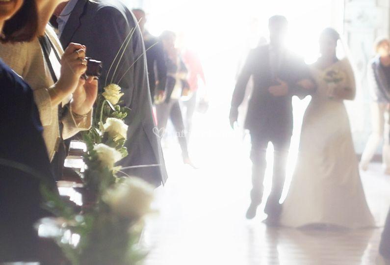 Cerimonia: arrivo sposa