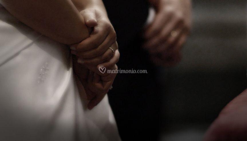 Cerimonia: dettaglio sposi