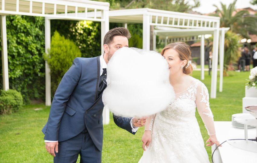 Sposi con Zucchero Filato