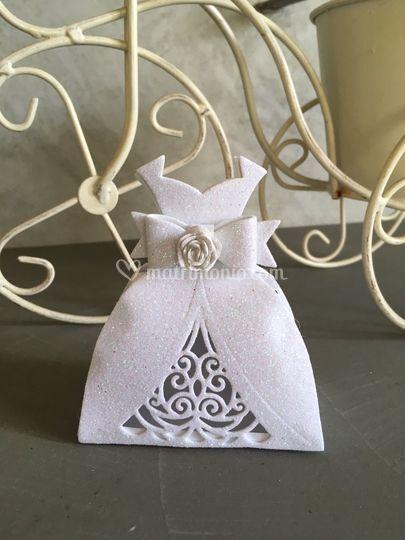Scatolina abito da sposa