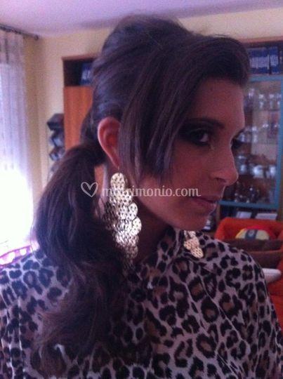 Make up fashion e hair style