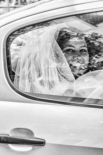 Anna in macchina