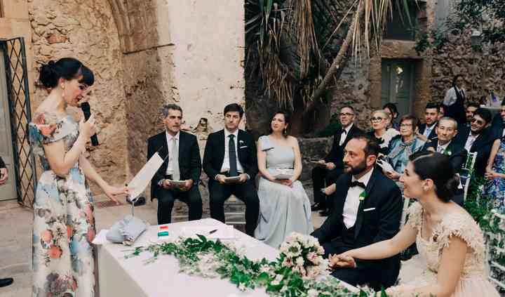 La storia degli sposi