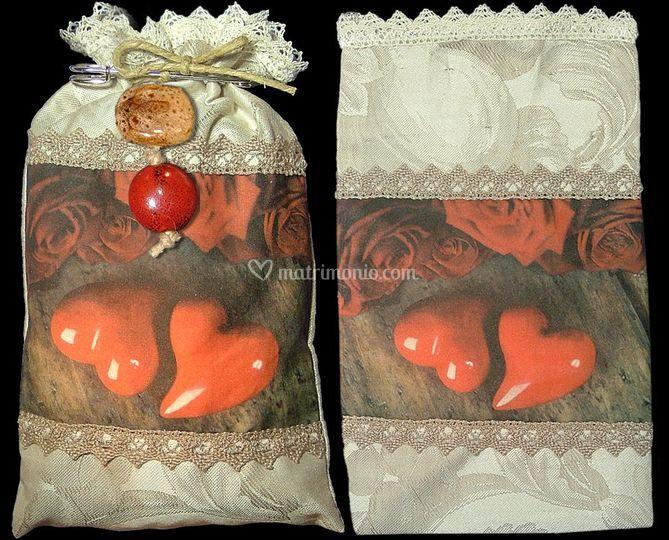 Sacchetto bomboniera-confetti