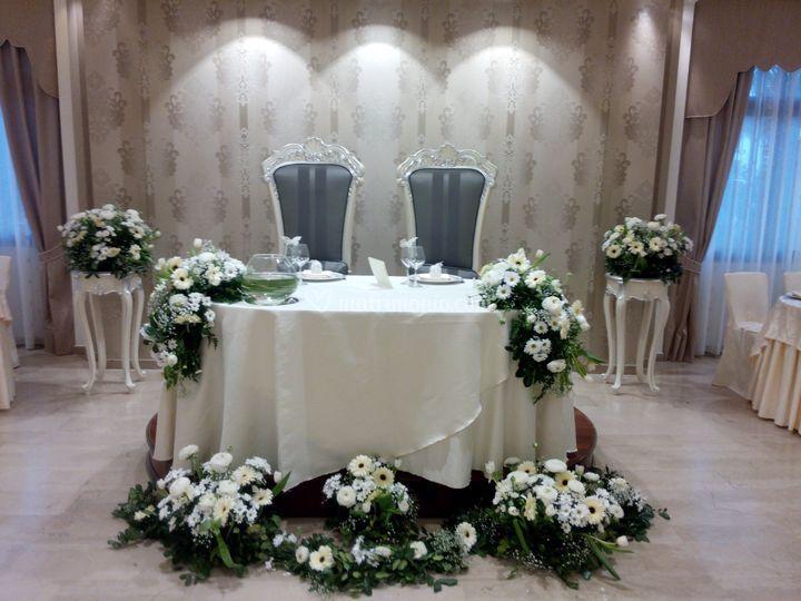 Addobbi tavoli per matrimonio showroomdelserramento