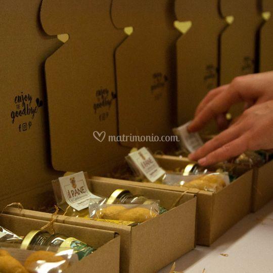 Mini box degustazione