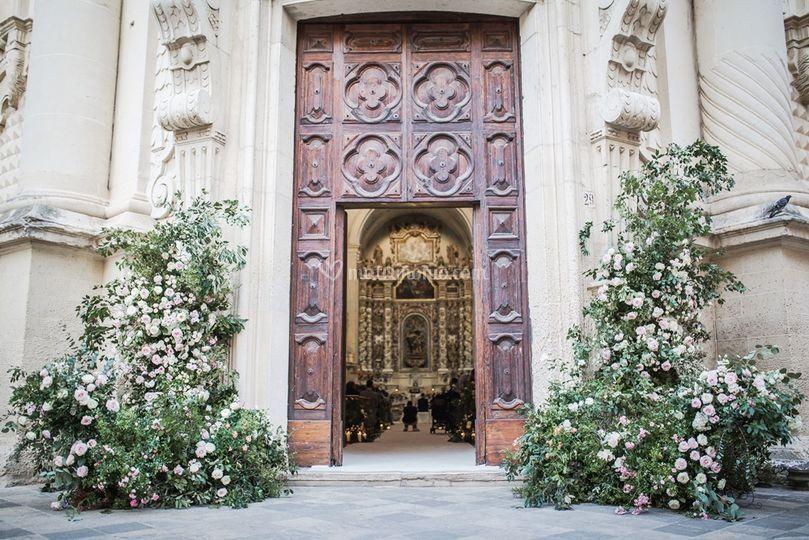 Religious wedding in Lecce
