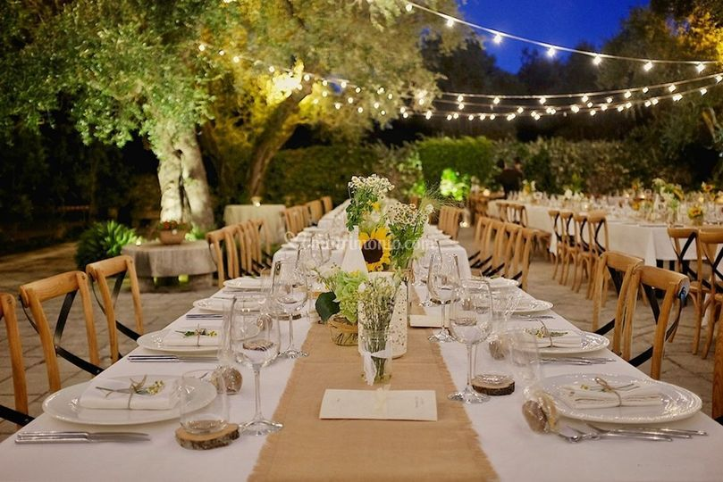 Rustic apulian wedding