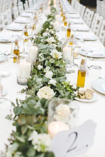 Apulian wedding decorations