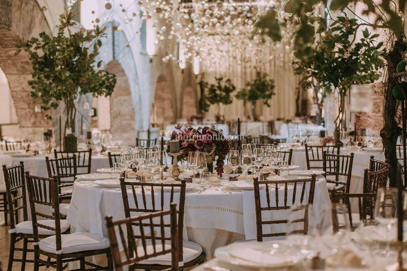 Castle wedding in Puglia