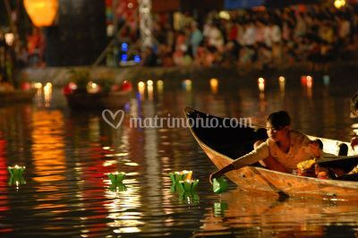Hoi An paper boat
