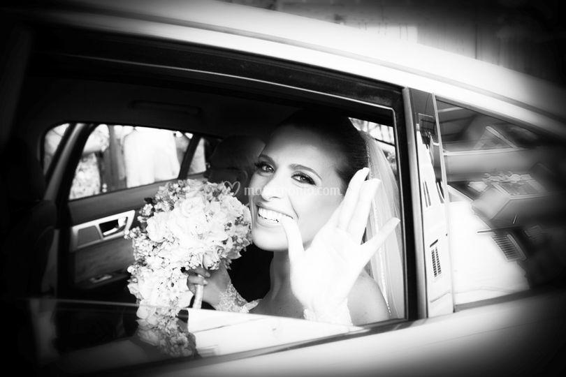 Il saluto della sposa