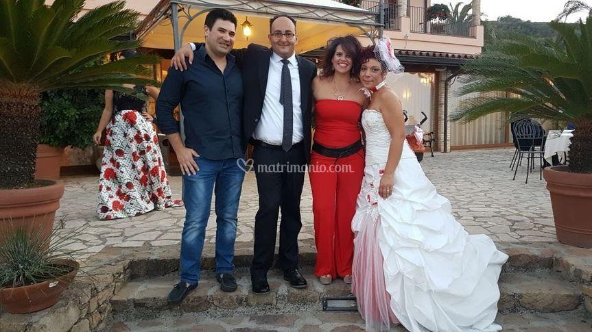 Con Antonio e Elena