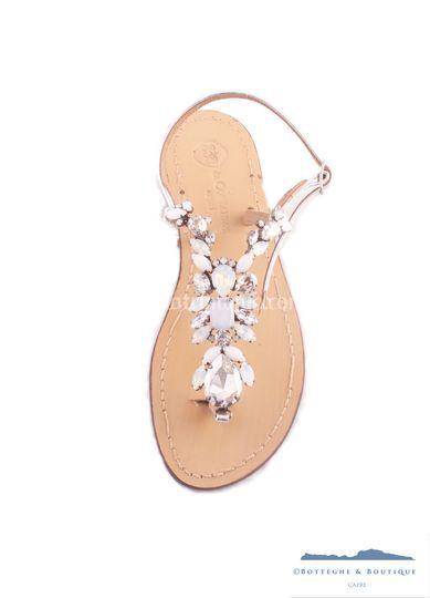 Sandalo caprese gioiello