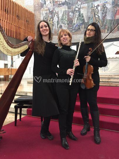 Flauto - Arpa - Violino