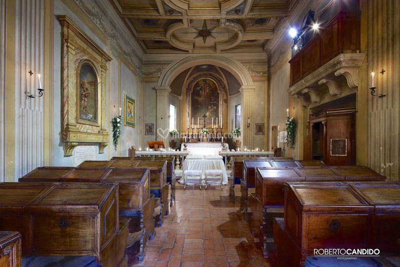 La navata della Chiesa