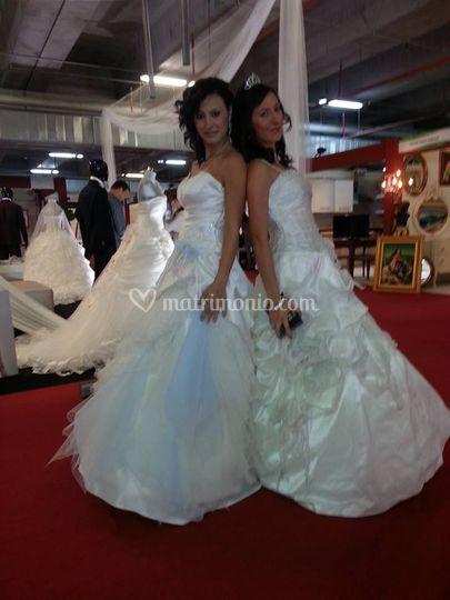 Montanti spose in fiera