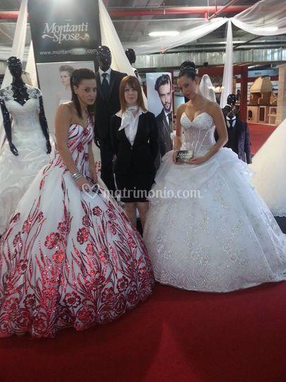 Montanti spose , le modelle