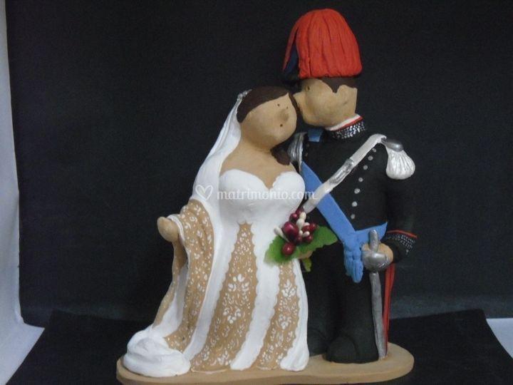 Sposi in divisa