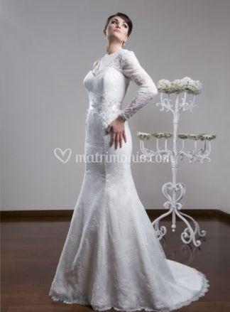 Abito da sposa elegante